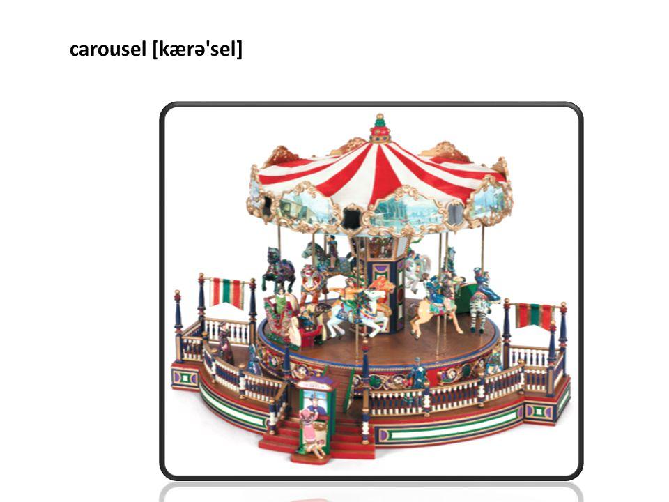 carousel [kærə sel]